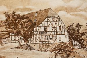 Gasthof vor 100 Jahren